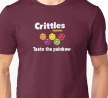 Crittles-Taste The Painbow Unisex T-Shirt