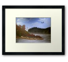 Beautiful Landscape Tranquil Countryside Framed Print