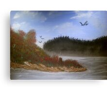 Beautiful Landscape Tranquil Countryside Canvas Print