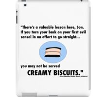 Garmadon's Creamy Biscuits iPad Case/Skin