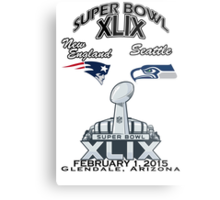Super Bowl XLIX Metal Print