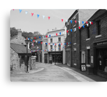 Bunting Canvas Print