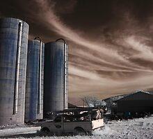 Near Infrared Farm Field by Joshua Doutt