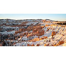 Snow Coat - Bryce Canyon National Park, Utah Photographic Print