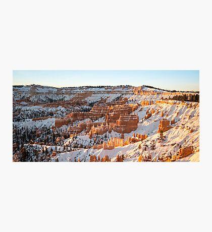 Snow Coat - Bryce Canyon National Park, Utah Photographic Print