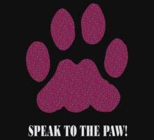 pink speak to the paw by ashroc