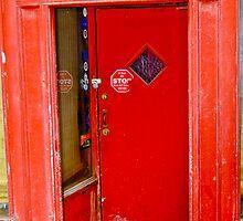 Red Door in Valpo 1 by steve johnson