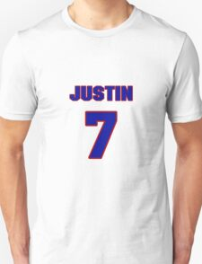 National baseball player Justin Huber jersey 7 T-Shirt