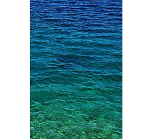 Blue Shining Waters Photographic Print