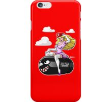 Princess Peach love Bullet Bill iPhone Case/Skin