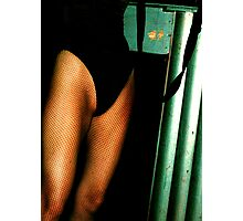 fishnets and fet' nites Photographic Print