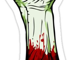 Zombie Fist! Sticker