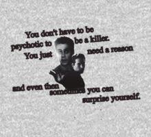 Stiles Stilinski And Kai Parker - The Vampire Diaries And Teen Wolf T-Shirt