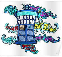 Tardis sounds off Poster