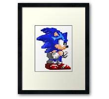Sonic 3D Framed Print