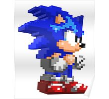 Sonic 3D Poster
