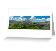 Gunung Batur - Bali, Indonesia Greeting Card