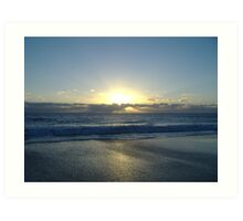 Cottesloe Sunset Art Print