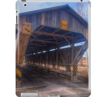 Chambers Road Covered Bridge iPad Case/Skin