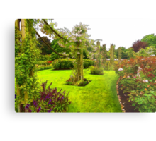 Impressions of London – Queen Mary's Garden at Regent's Royal Park Metal Print