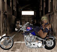 Bike Hideout by Kristin Wertman