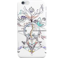 Colours blossom iPhone Case/Skin