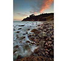 Homunga Bay Sunset Blush Photographic Print