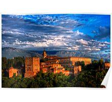 Alhambra HDR Poster