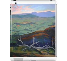 Kinglake- the top of the hill iPad Case/Skin