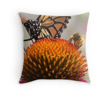 Sharing is Caring@ Throw Pillow