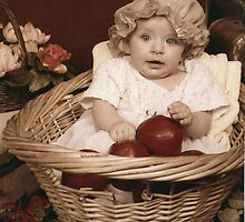 Basket Of Apples by Jenifer