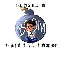 Jaeger Bomb! Photographic Print