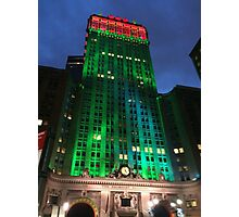 Holiday Colors, Helmsley Building, New York City Photographic Print