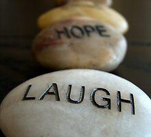 Laugh Hope Dream by Caroline Fournier