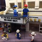 Lego Theater, Lego Rockefeller Center Store, Rockefeller Center, New York City by lenspiro