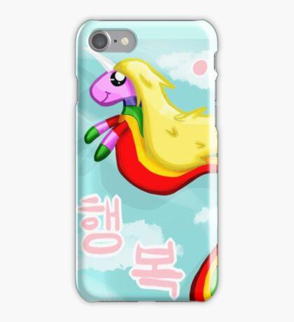 Rainicorns and Happiness iPhone Case/Skin