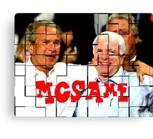 McSame - McCain Canvas Print