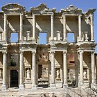Library of Celsus in Ephesus, Turkey by Anne-Marie Bokslag