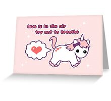 Heart Fart Greeting Card