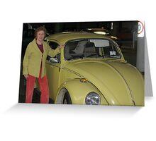 My Coat My Car Greeting Card