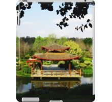Reflections of a Japanese Garden - Hunter Valley iPad Case/Skin