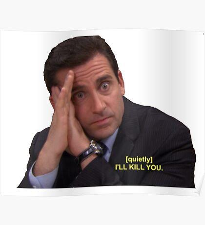 I'll Kill You Poster