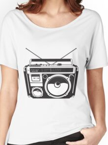 Retro radio Women's Relaxed Fit T-Shirt