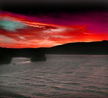 BLOOD RED SKY by oakes deary