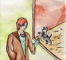 Remus Meets a Puppy by srw110