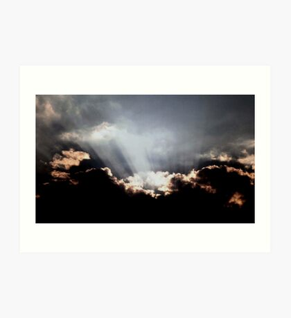 Heavenly Light Art Print