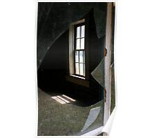 Sunlight through a window Poster