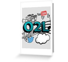 O2L FOREVER GRAPHIC  Greeting Card