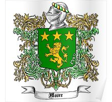 Moore Family Crest 1 Poster