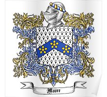 Moore Family Crest 2 Poster
